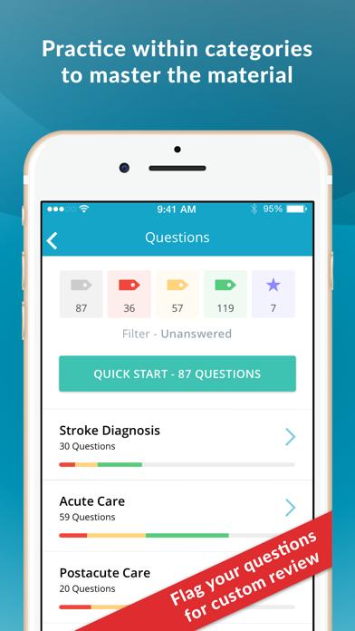 Stroke Certified RN Test Prep Screenshot