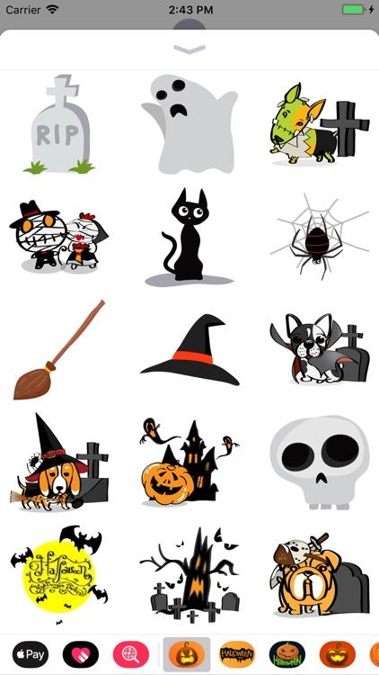 Happy Halloween Haunted Emojis