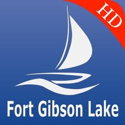 Fort Gibson Lake GPS Chart Pro