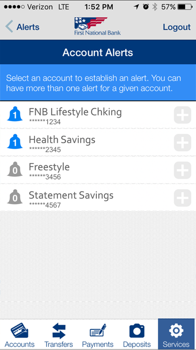 FNB Direct Screenshot