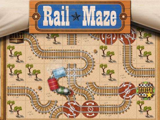 Rail Maze : Паровозики на iPad