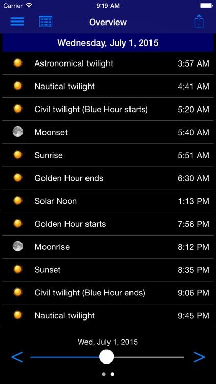 Sun Info screenshot-3