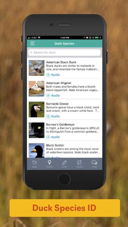 Duckr - Duck Hunting App & GPS