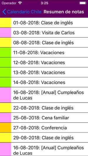 Calendario Chile 2019 Con Feriados.Calendario 2019 Chile En App Store