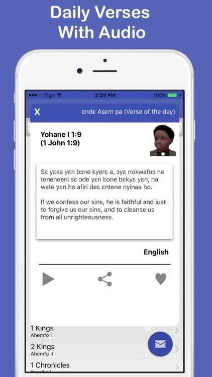 Twi & English Bible Offline + screenshot-4