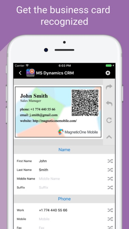 Card reader 4 ms dynamics crm by magneticone card reader 4 ms dynamics crm screenshot 4 reheart Images