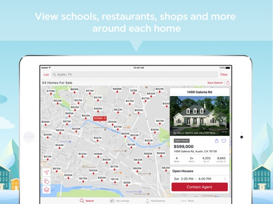Realtor.com Real Estate, Homes Скриншоты10