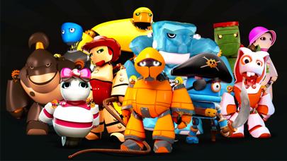 Screenshot from Maxim the robot
