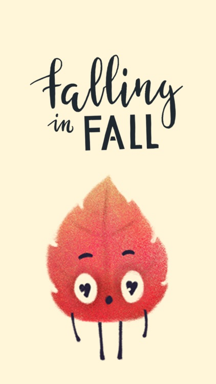 Falling in Fall - stickers