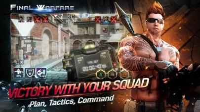 Screenshot of Final Warfare App