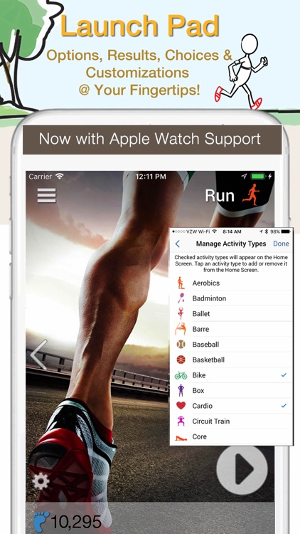 iCardio Workout Tracker screenshot-0