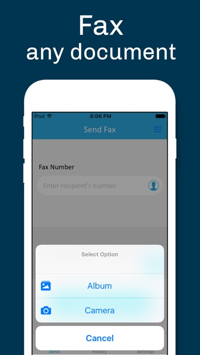 Screenshot #5 for Fax from iPhone - Fax App