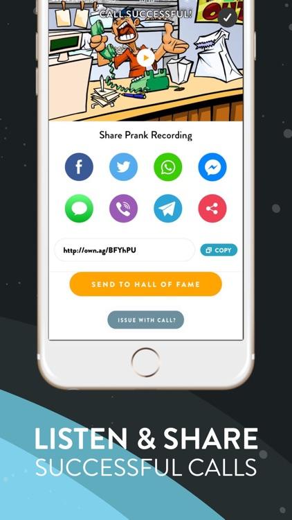 Ownage Pranks Prank Call App screenshot-3