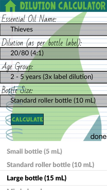 Oil Dilution Calculator screenshot-4