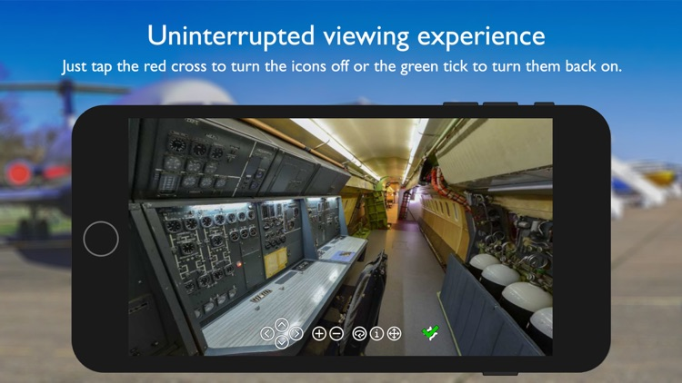 Concorde 101 360° Virtual Tour screenshot-5
