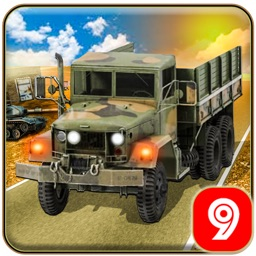 Army Cargo Truck Transporter