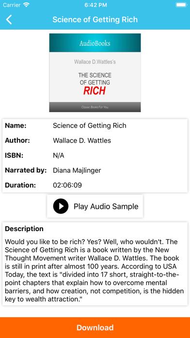 AudioBooks Pro - Best Books screenshot two