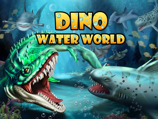 Dino Water World-Dinosaur game на iPad