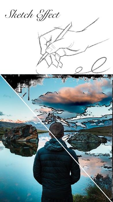 Screenshot for Sketch Effect - Paint Styles in Brazil App Store
