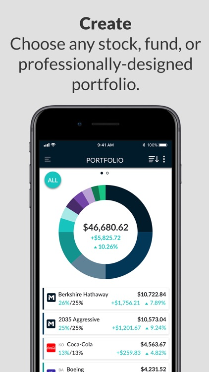 M1 Finance - No Fee Investing screenshot-0