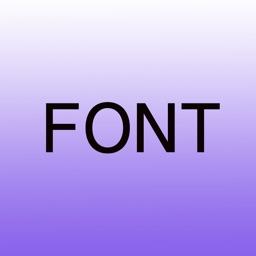 字体.font