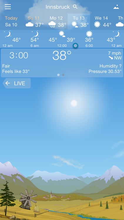 Awesome Weather YoWindow screenshot-4