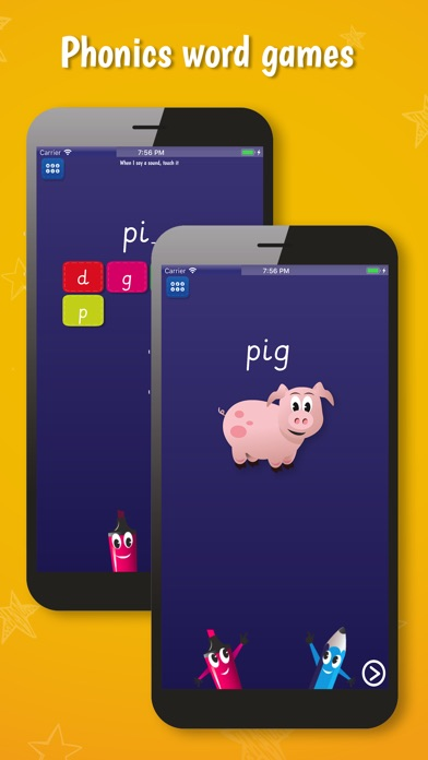 PocketPhonics (basic edition) screenshot two