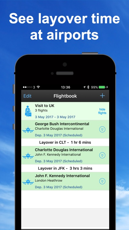 mi Flight Tracker Pro screenshot-3