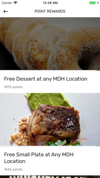 MDH Loyalty Rewards