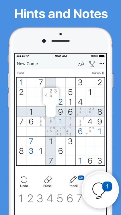 Sudoku - Classic Logic Game screenshot-3