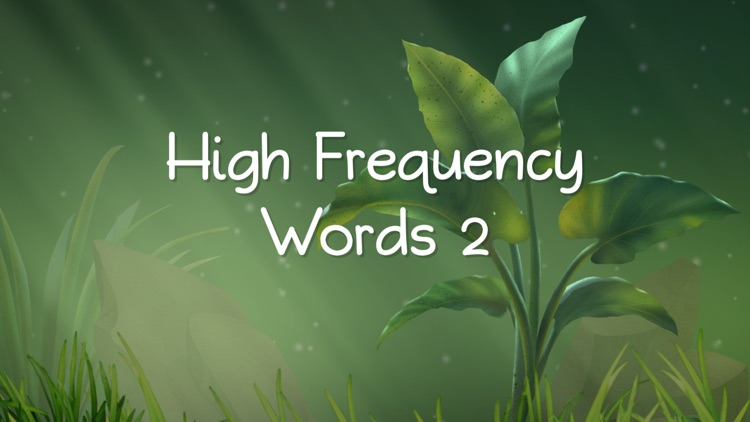 High Frequency Words 2