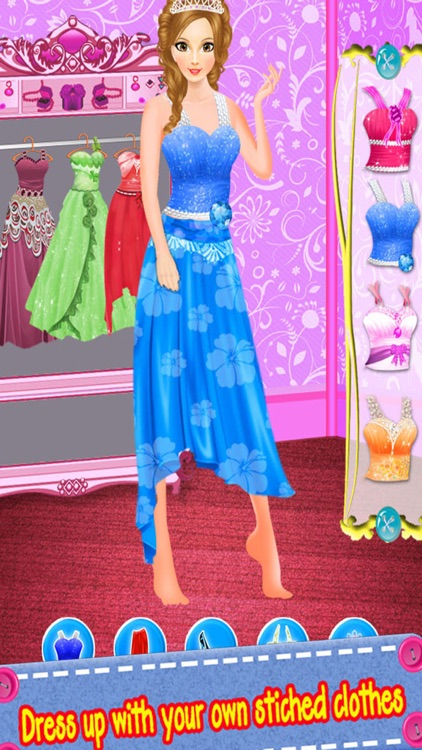 Princess Tailor Dress Design screenshot-3
