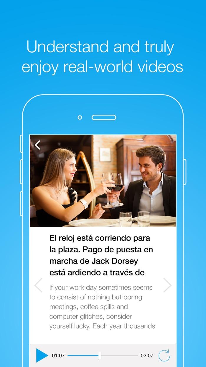FluentU - Learn languages Screenshot