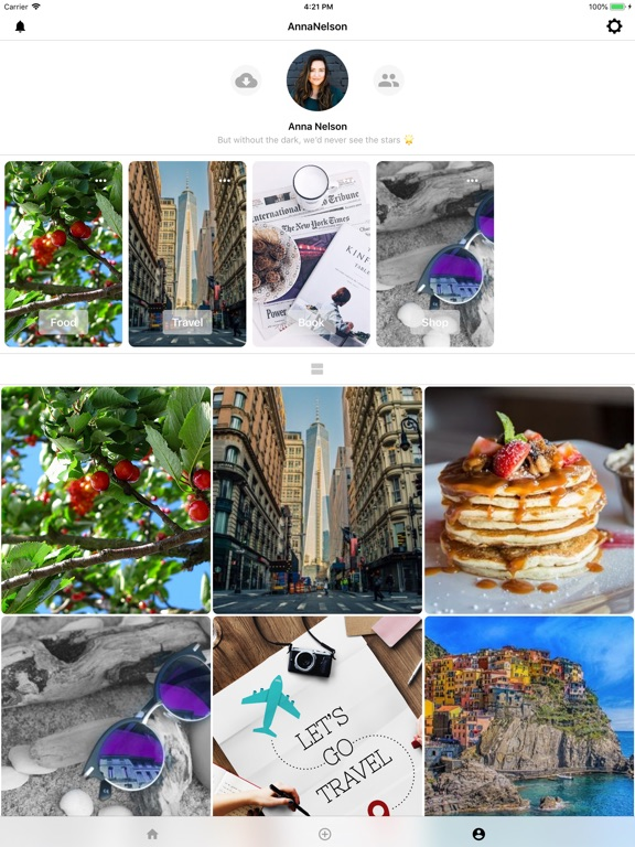 Image of LiveCloud - A Social Storage for iPad