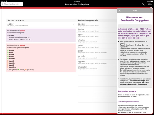 Bescherelle Conjugaison Dans L App Store