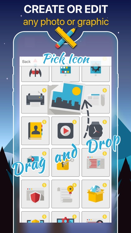 Poster & Graphic Maker - Create Photo Backgrounds screenshot-3