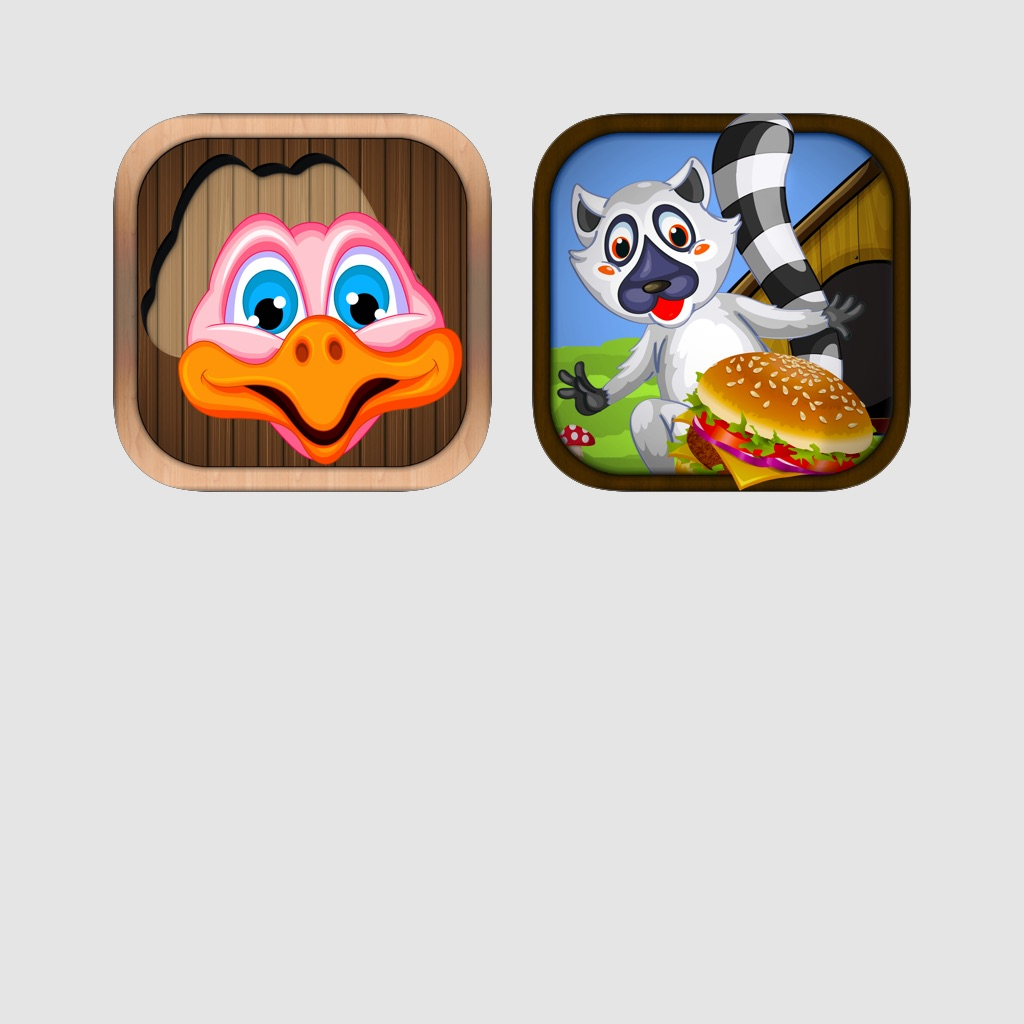 Animal Kids games: Puzzle games for boys & girls