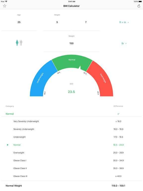 BMI Calculator – Pro screenshot 4
