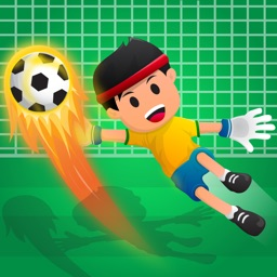 Football Strike Goalkeeper Boy