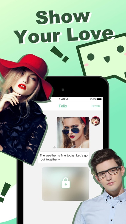 BabeTalk-Fancy dating app screenshot-2