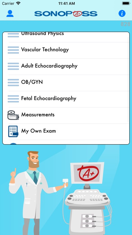 SonoPass - Sonography Exams