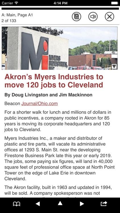 Akron Beacon Journal e-Edition screenshot-3
