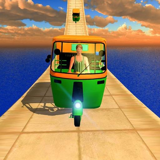 Tuk Tuk Rickshaw Driving sim