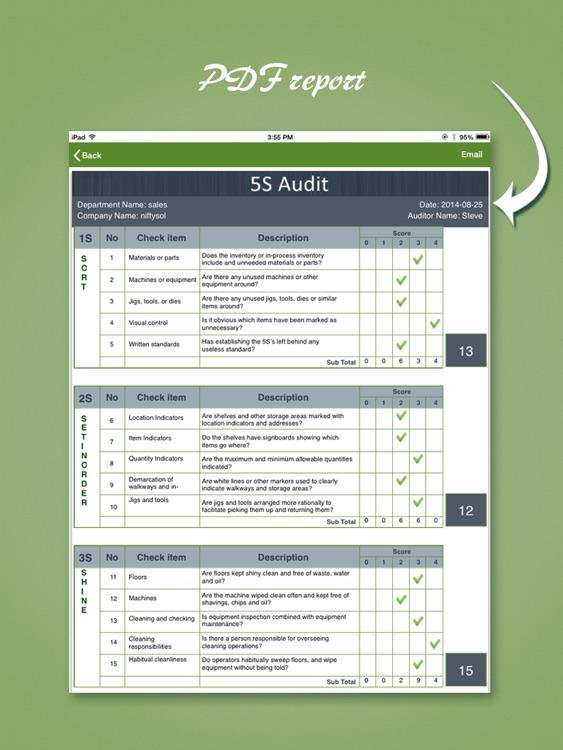 5s Audit – Lean tools, Kaizen screenshot-4