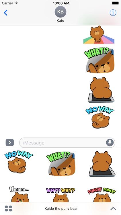 Kaido the puny bear screenshot-3