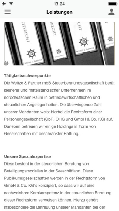 Weitze & Partner mbBScreenshot von 3