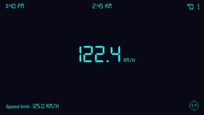 Screenshot of Tachimetro GPS: contachilometr4