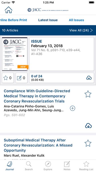messages.download JACC Journals software
