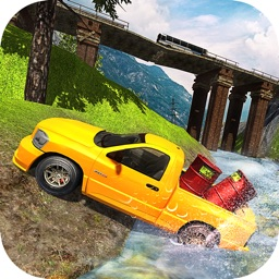 Offroad Pickup Driving: Cargo Truck Driver