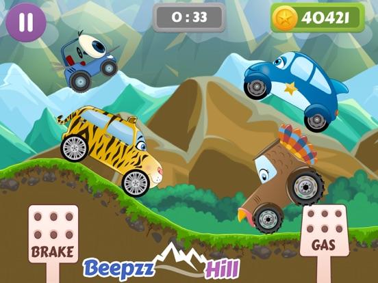 Beepzz Hill гоночная игра на iPad